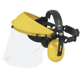 Universal Hearing protectors & polycarb visor