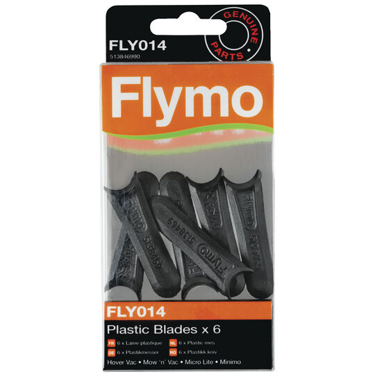 Plastic Lawnmower Blades FLY014 image number null