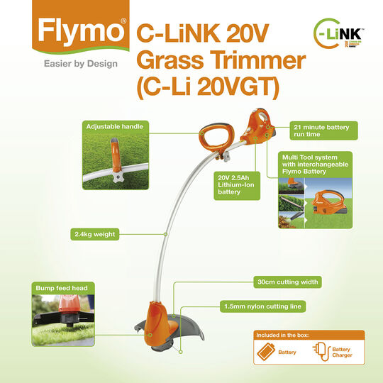 C-Link 20V Grass Trimmer image number null